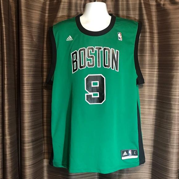 10fe4775 adidas Shirts   Vintage 9 Rondo Boston Celtics Nba Jersey   Poshmark